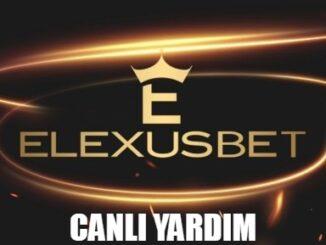 Elexusbet Canlı Yardım